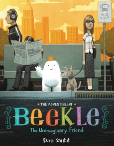 The Adventures of Beekle! An awesome choice for Caldecott.